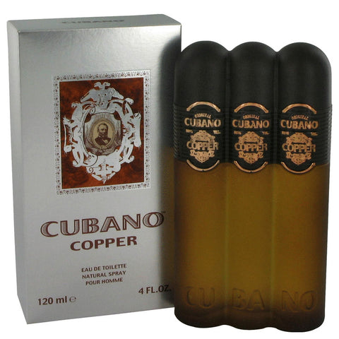 Cubano Copper by Cubano Eau De Toilette Spray (unboxed) 4 oz for Men