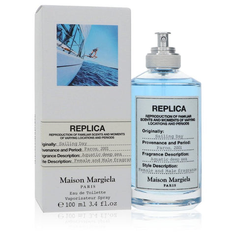 Replica Sailing Day by Maison Margiela Eau De Toilette Spray (Unisex) 3.4 oz for Men