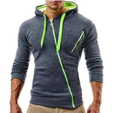 Mens Brand Hoodie Sweatshirt Slim Fit 3D Hoodies