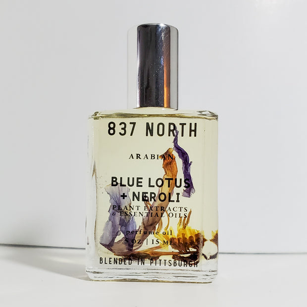 Blue Lotus + Neroli, 15 ml. Unisex Perfume