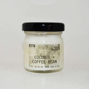 Coconut + Coffee Bean, 1.5 oz. Soy Candle