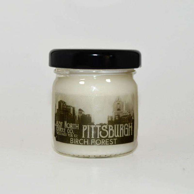 Pittsburgh: Birch Forest, 1.5 oz. Soy Candle