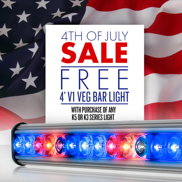 Kind LED Grow Lights Offers Free Vegetative Bar Lights for July