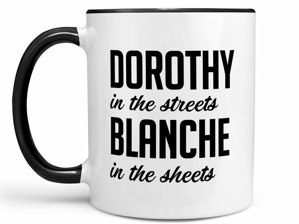 Blanche In the Sheets Coffee Mug