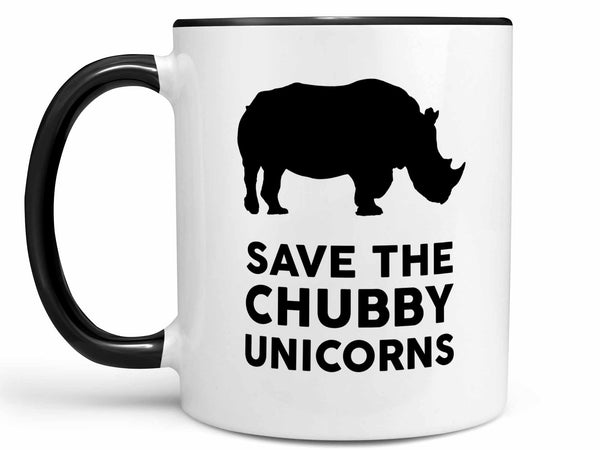 Chubby Unicorns Coffee Mug