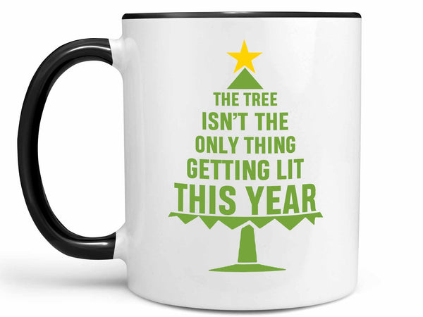 Getting Lit Christmas Coffee Mug,Coffee Mugs Never Lie,Coffee Mug
