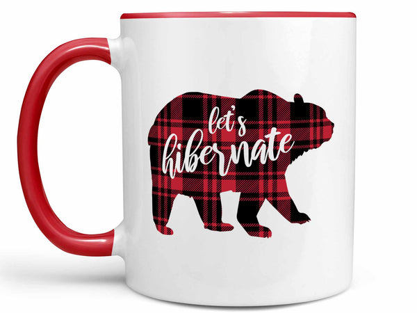 Let's Hibernate Bear Coffee Mug