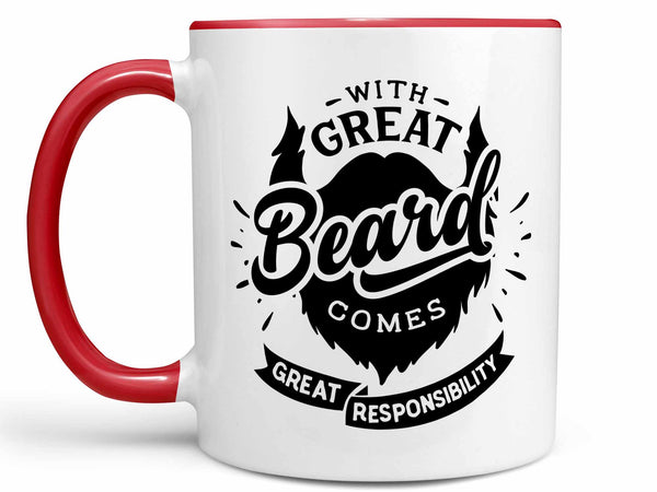 Great Beard Coffee Mug,Coffee Mugs Never Lie,Coffee Mug
