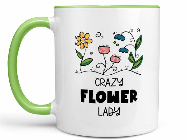 Crazy Flower Lady Coffee Mug