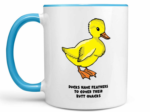 Duck's Butt Quacks Coffee Mug