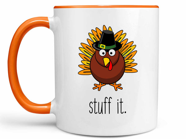 Stuff It Turkey Coffee Mug