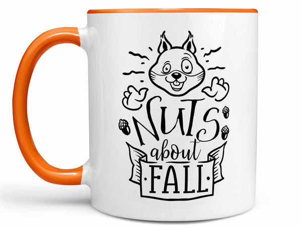 Nuts About Fall Coffee Mug,Coffee Mugs Never Lie,Coffee Mug