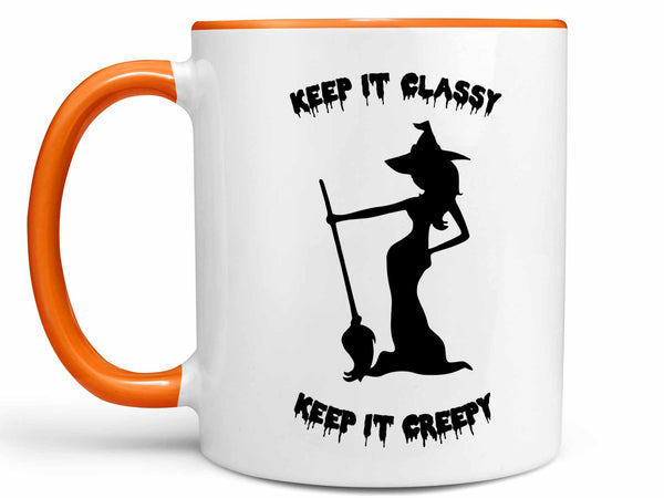 Keep it Creepy Coffee Mug,Coffee Mugs Never Lie,Coffee Mug