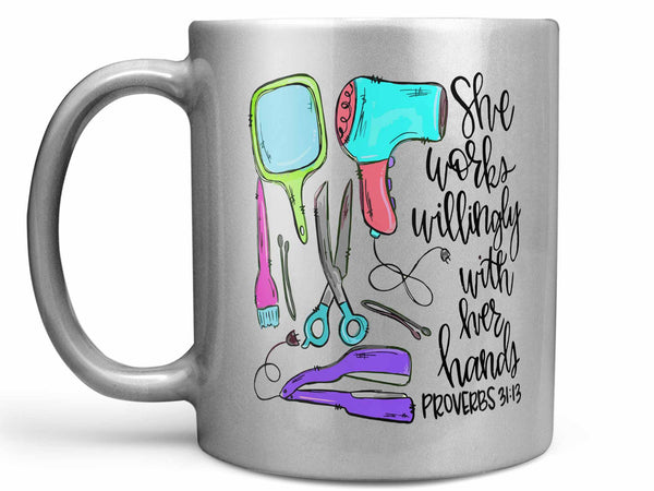 With Her Hands Stylist Coffee Mug,Coffee Mugs Never Lie,Coffee Mug
