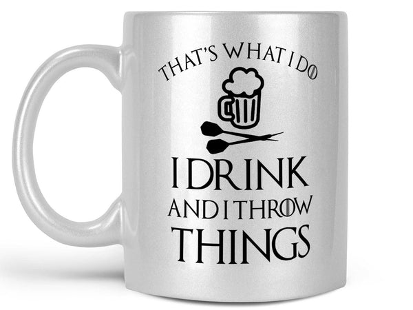 Drink and Throw Darts Coffee Mug,Coffee Mugs Never Lie,Coffee Mug