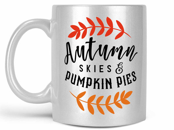 Autumn Skies Coffee Mug,Coffee Mugs Never Lie,Coffee Mug
