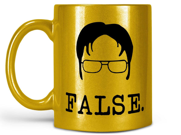 Dwight Schrute False Coffee Mug,Coffee Mugs Never Lie,Coffee Mug