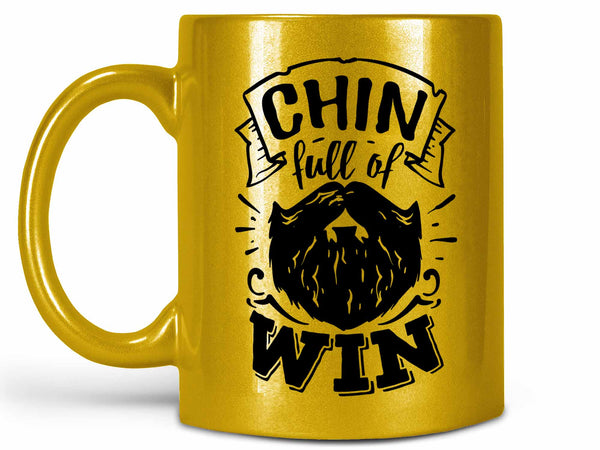 Chin Full of Win Coffee Mug,Coffee Mugs Never Lie,Coffee Mug