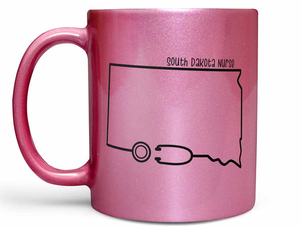 South Dakota Nurse Coffee Mug