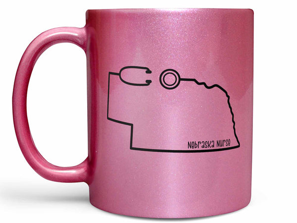Nebraska Nurse Coffee Mug