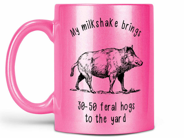30-50 Feral Hogs Coffee Mug,Coffee Mugs Never Lie,Coffee Mug
