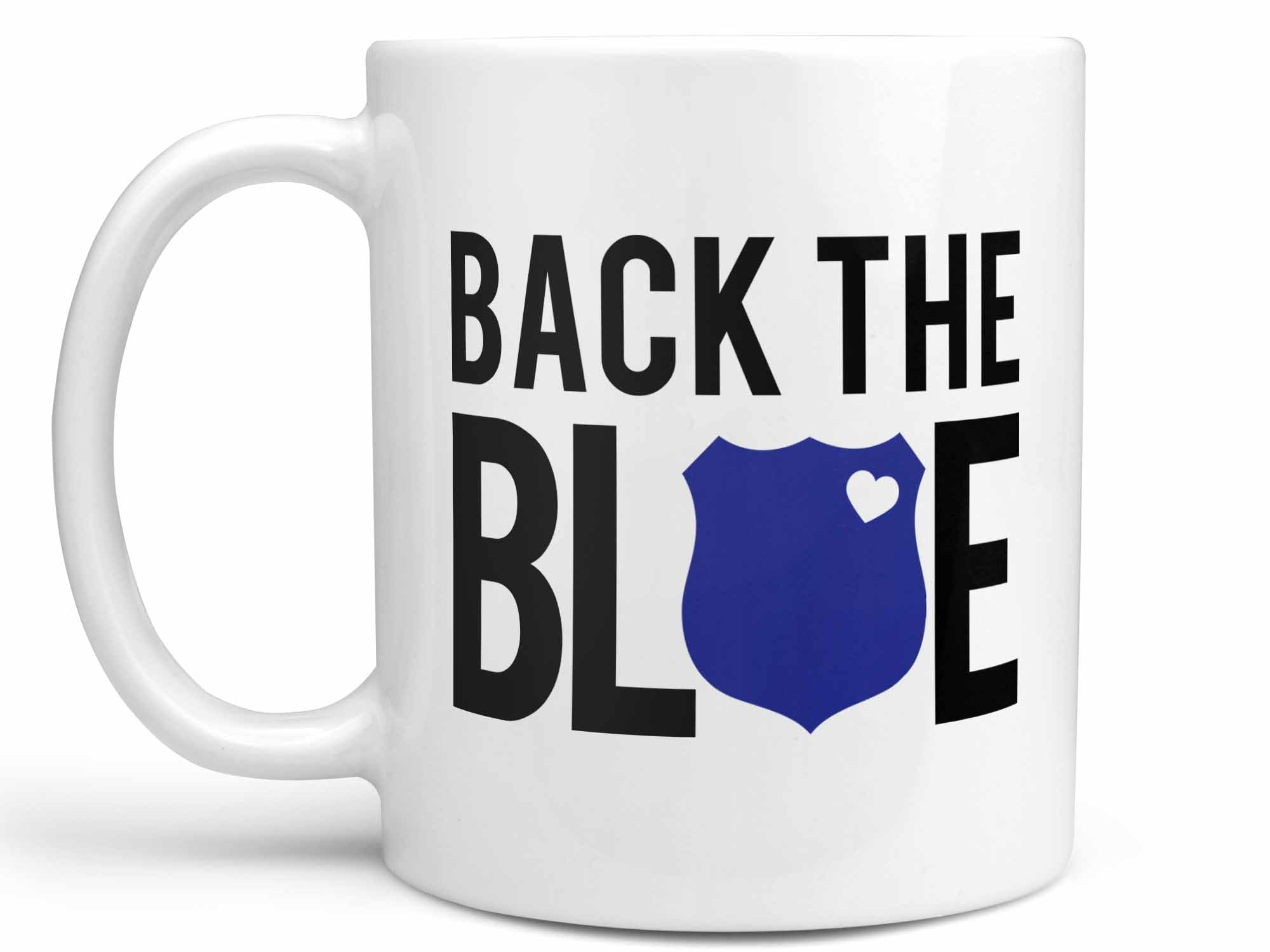 Back the Blue Coffee Mug