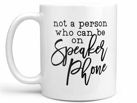 Speaker Phone Coffee Mug
