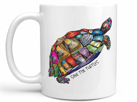 Save the Turtles Coffee Mug