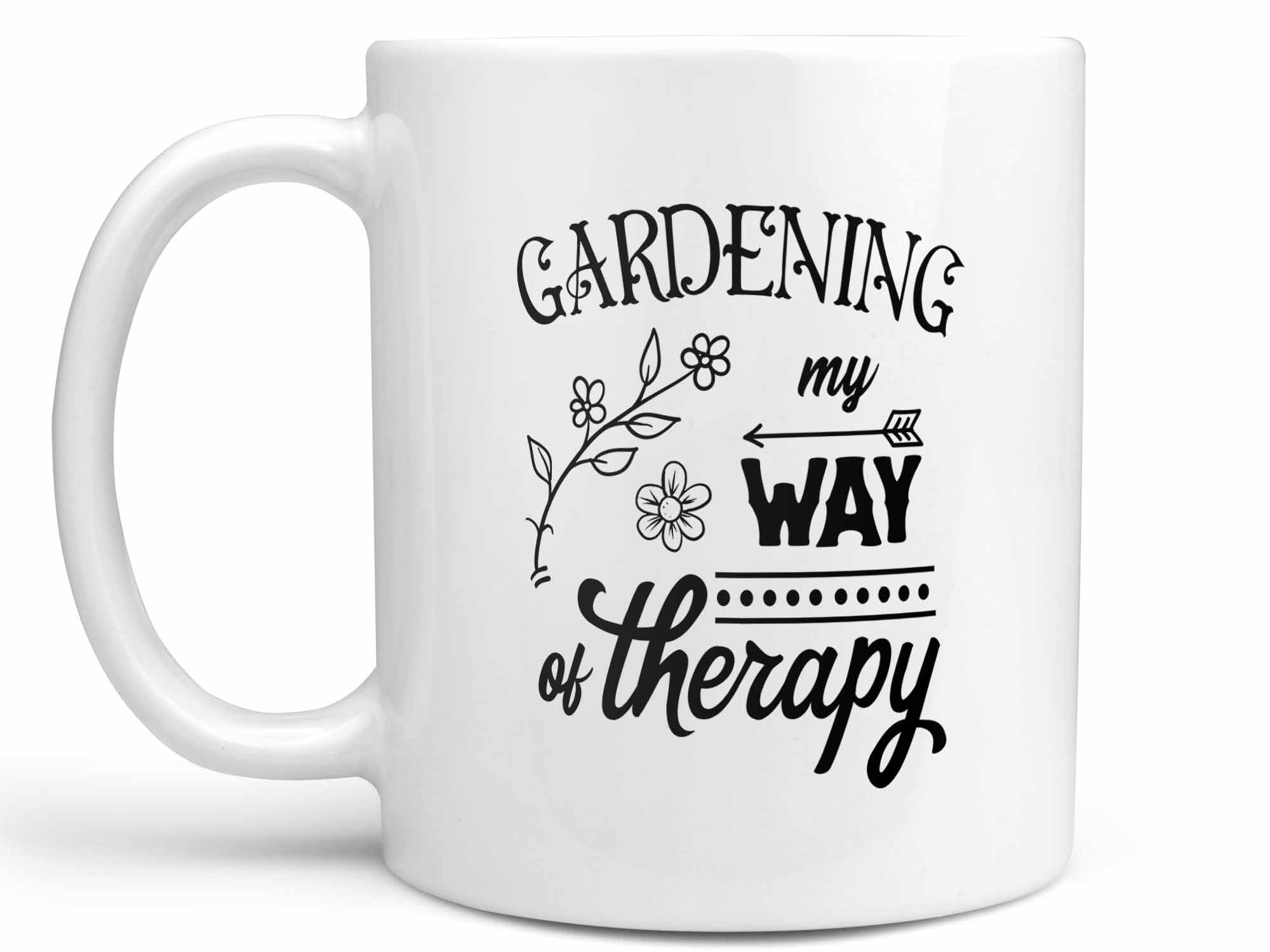 Gardening Way of Therapy Coffee Mug
