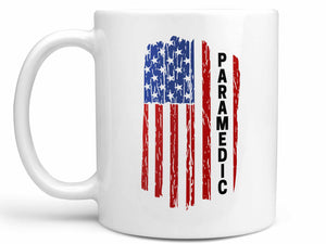 Paramedic Flag Coffee Mug