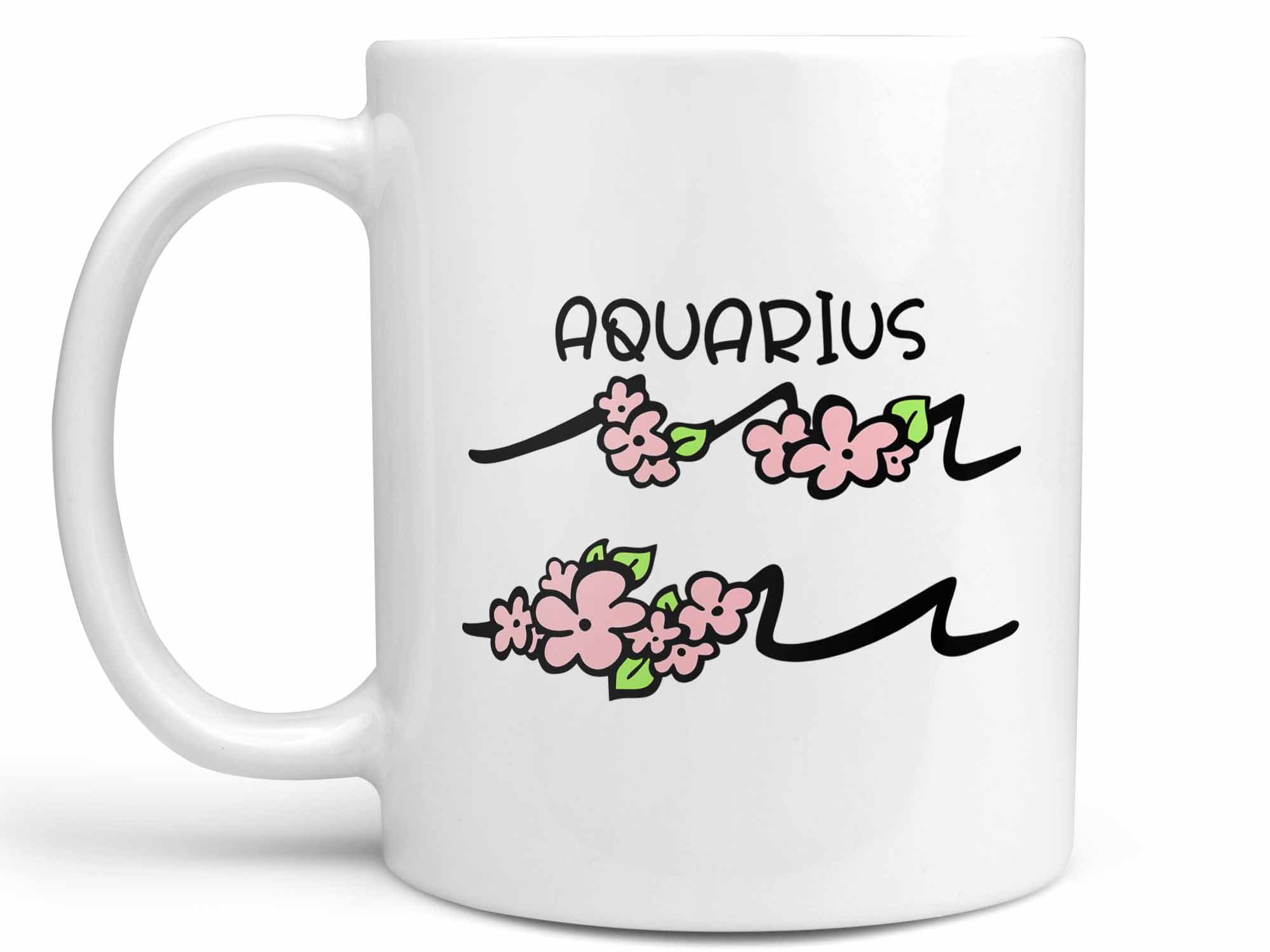 Aquarius Flower Coffee Mug