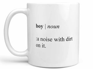 Boy Mom Definition Coffee Mug