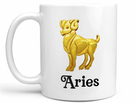 Aries Gold Coffee Mug