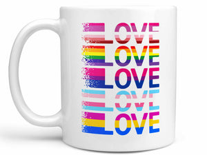 Love Rainbow Coffee Mug