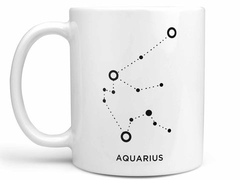 Aquarius Constellation Coffee Mug