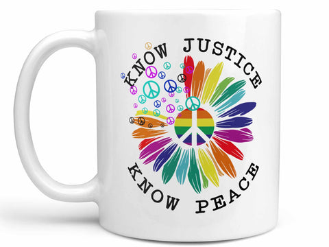 Know Peace Coffee Mug