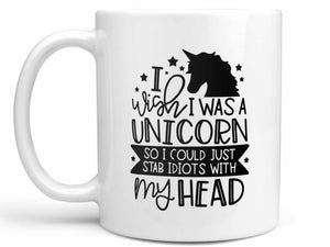 Wish I Was a Unicorn Coffee Mug