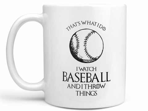 Baseball and Throw Things Coffee Mug