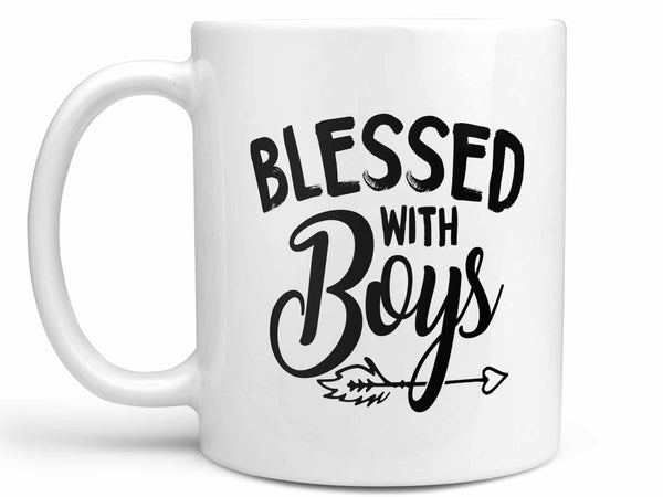 Blessed with Boys Coffee Mug