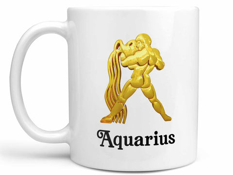 Aquarius Gold Coffee Mug