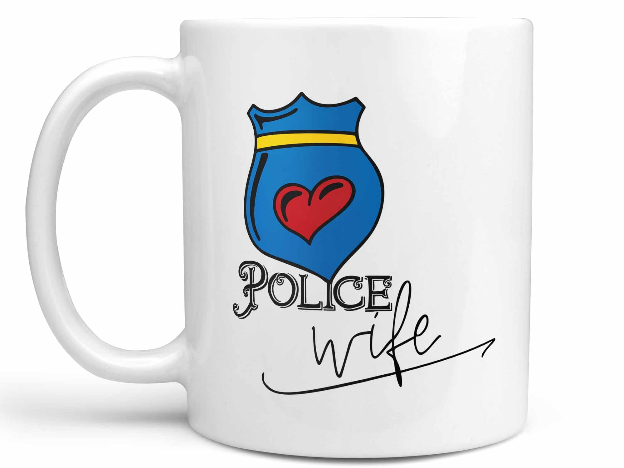 Police Wife Coffee Mug