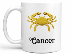 Cancer Gold Coffee Mug
