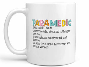 Paramedic Definition Coffee Mug