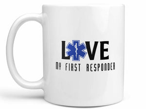 Love My First Responder E.M.T. Coffee Mug
