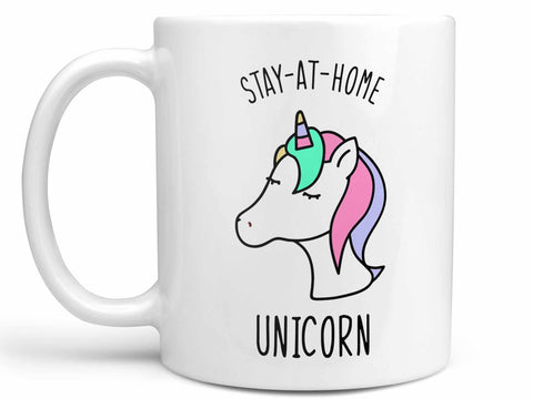 Stay At Home Unicorn Coffee Mug