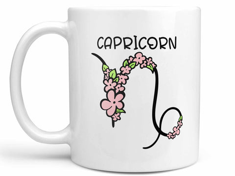 Capricorn Flower Coffee Mug