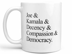 Joe and Kamala Coffee Mug