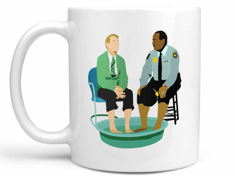 Fred and Officer Clemmons Coffee Mug
