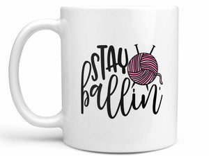 Stay Ballin' Crafting Coffee Mug