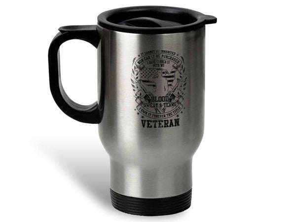 Forever the Title Veteran Coffee Mug